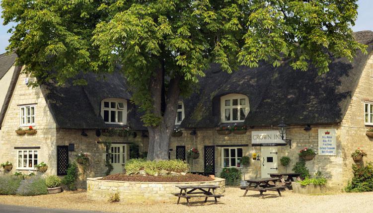 The Crown Inn, Elton pub exterior