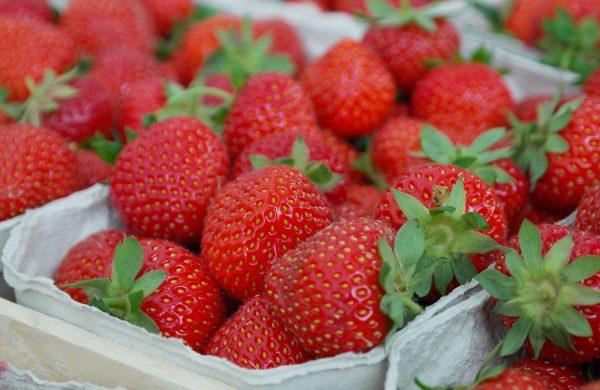British strawberry cheescake