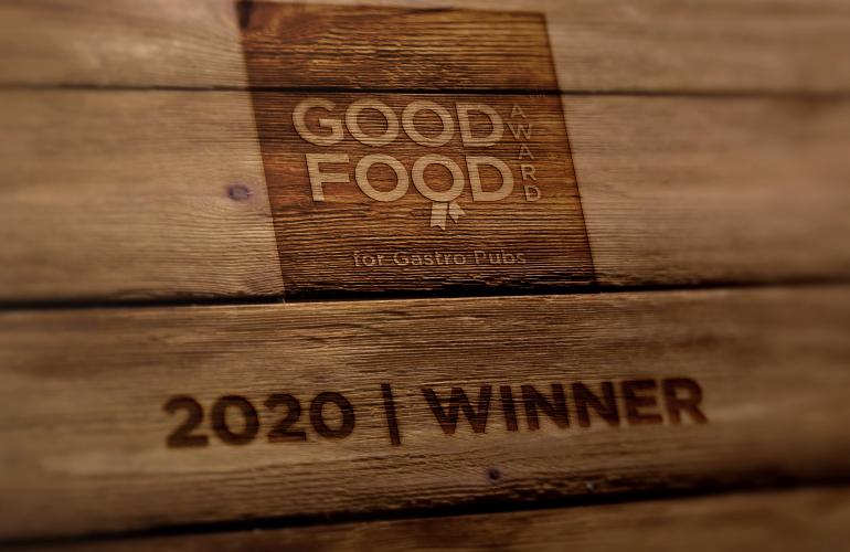 The Crown Inn, Elton wins Good Food Award for Gastro Pubs 2020