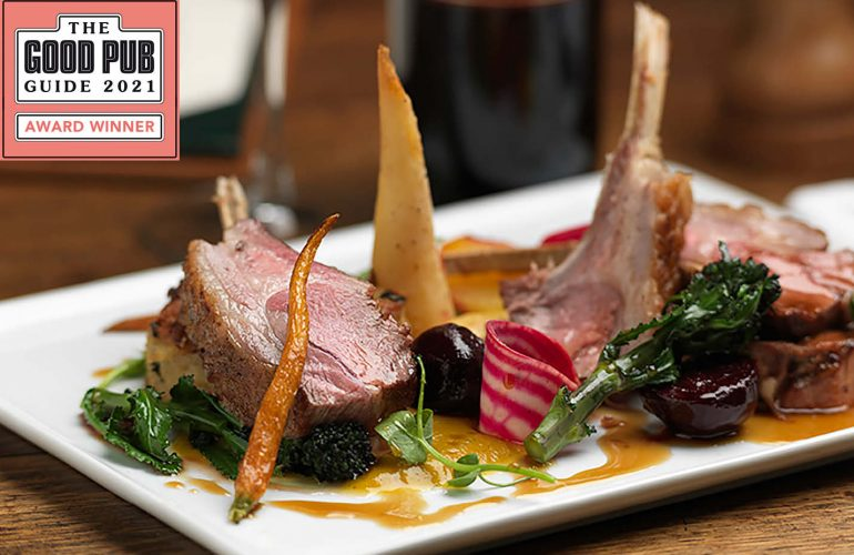Dining pub of the year award 2021